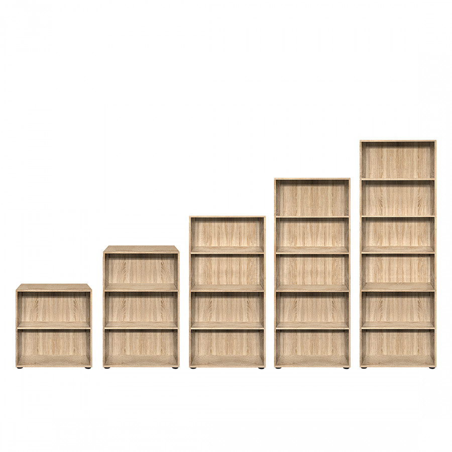 regal carry eiche dekor home24. Black Bedroom Furniture Sets. Home Design Ideas