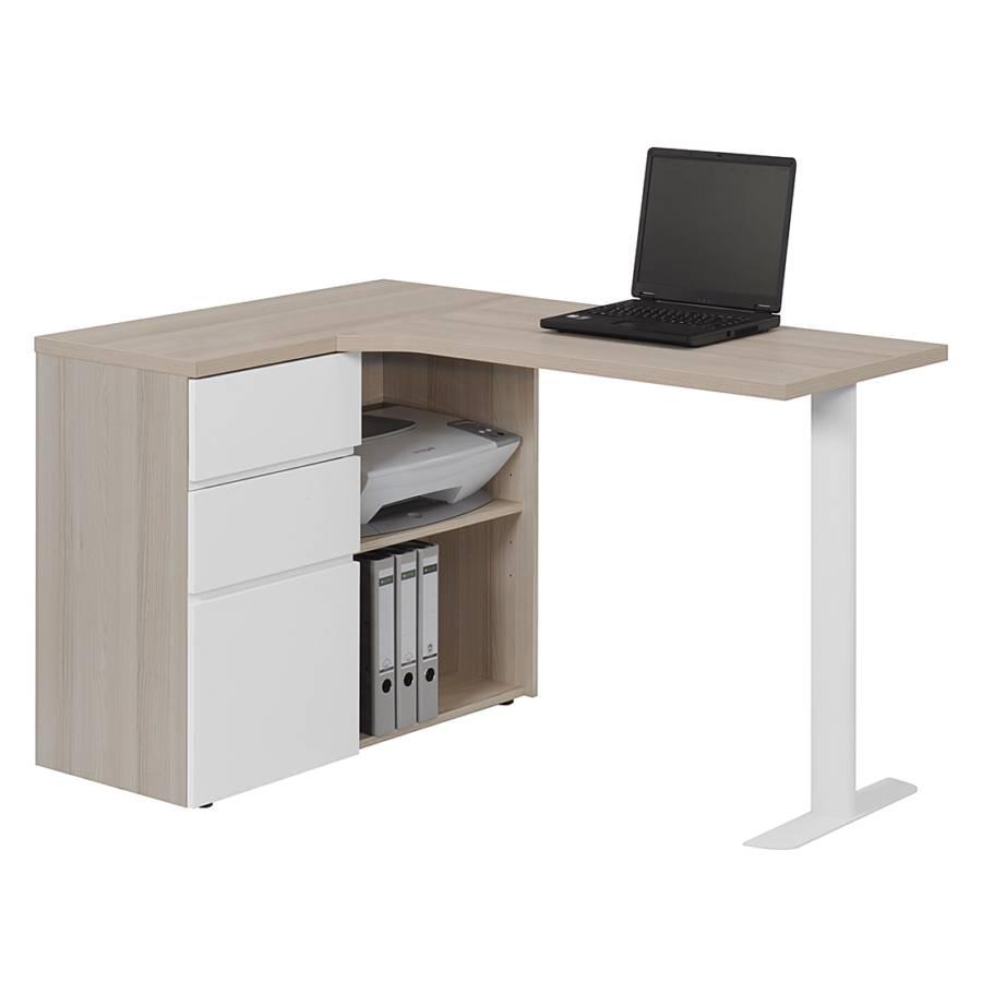 Bureau d 39 angle pour ordinateur cu libre 115 e duramen - Bureau d angle pour ordinateur ...