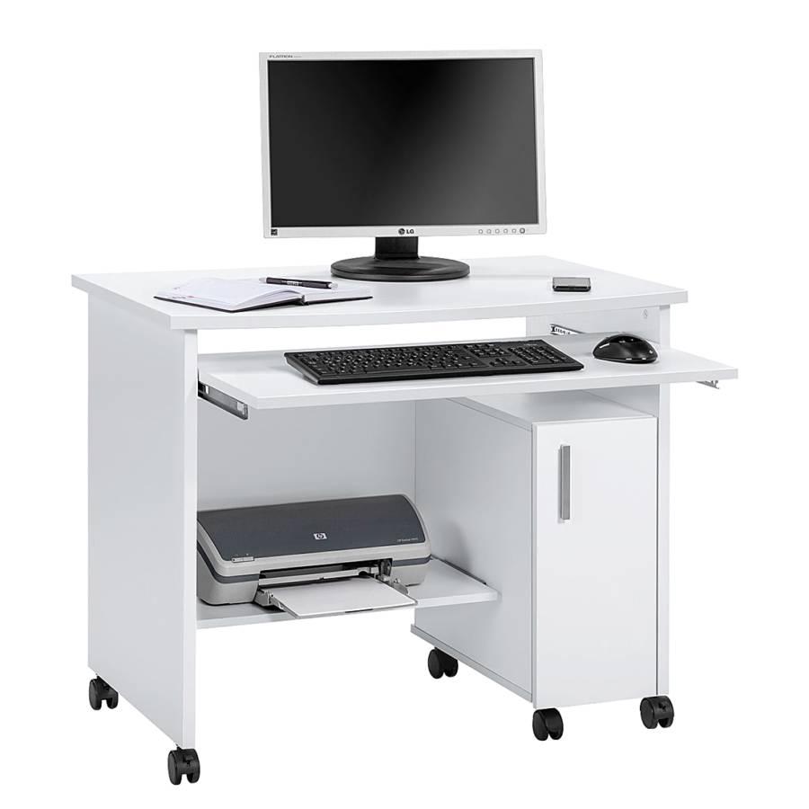 Bureau pour ordinateur orla blanc - Bureau pour ordinateur ...