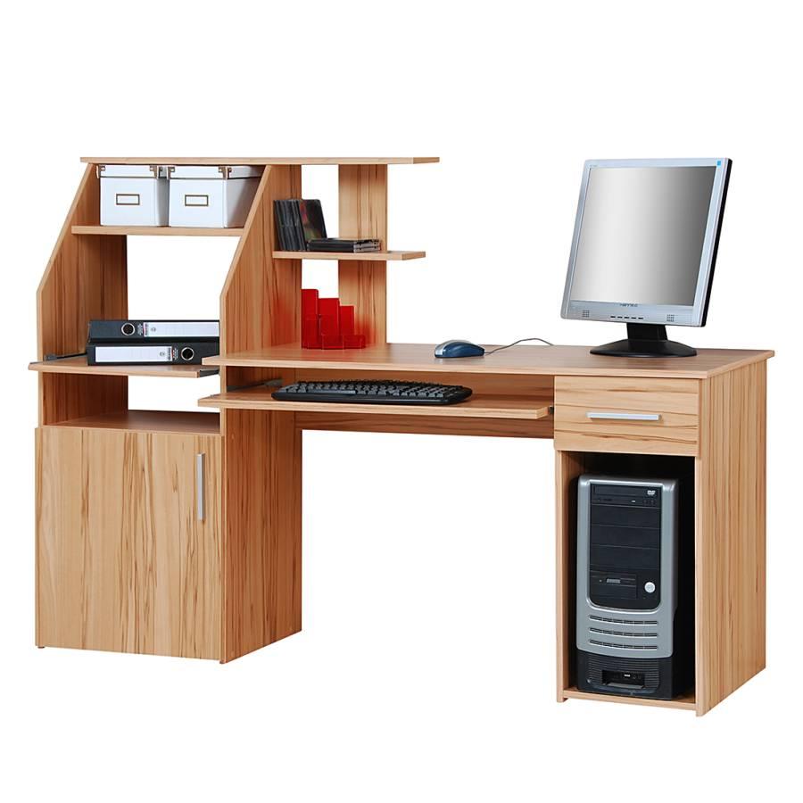 Jetzt bei home24 computertisch von home24office home24 for Kernbuche computertisch