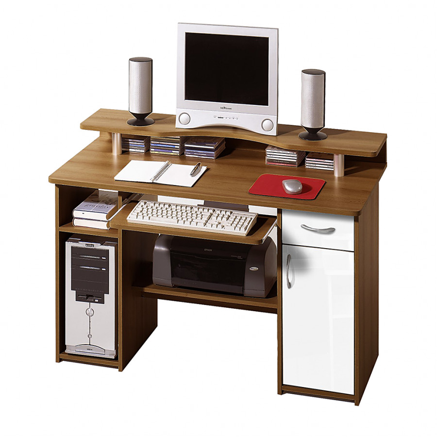 Bureau d 39 ordinateur avec support pour cran harry for Ordinateur pour photo