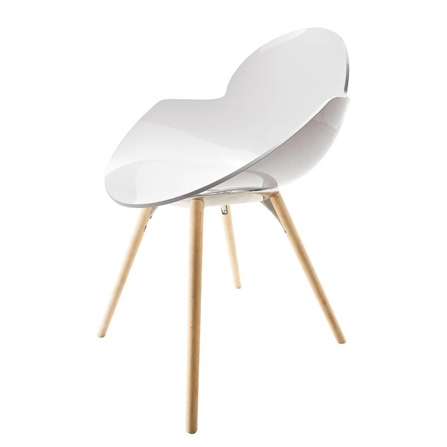 schalenstuhl cookie wei home24. Black Bedroom Furniture Sets. Home Design Ideas