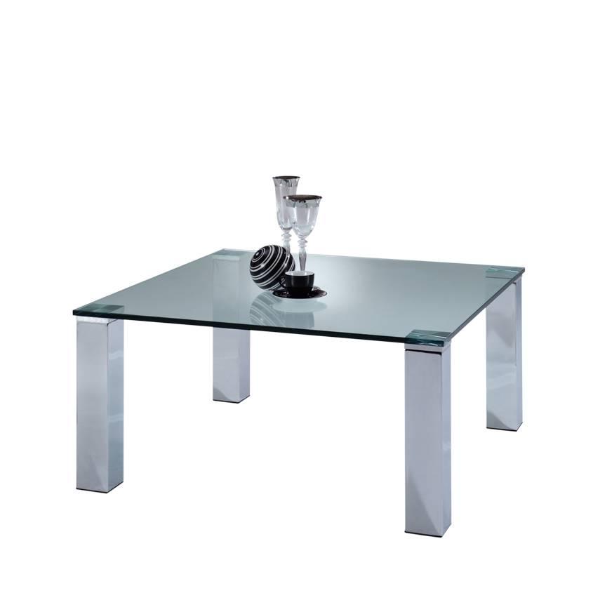 couchtisch glas metall couchtisch glas metall quadratisch mit schicht chrom im couchtisch glas. Black Bedroom Furniture Sets. Home Design Ideas