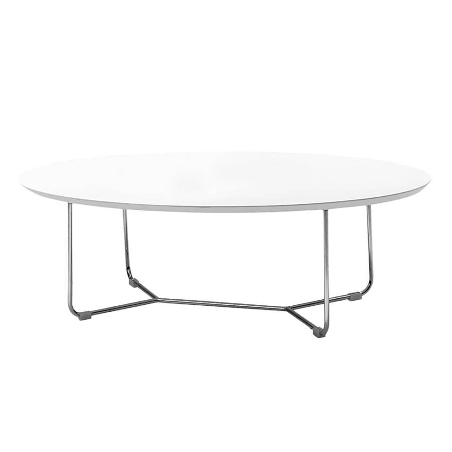 couchtisch datinel wei chrom home24. Black Bedroom Furniture Sets. Home Design Ideas