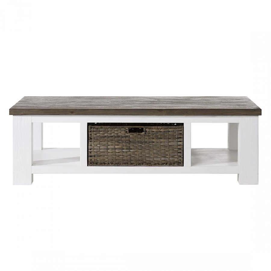 Table basse acacia massif perou pictures to pin on pinterest - Table basse acacia massif ...