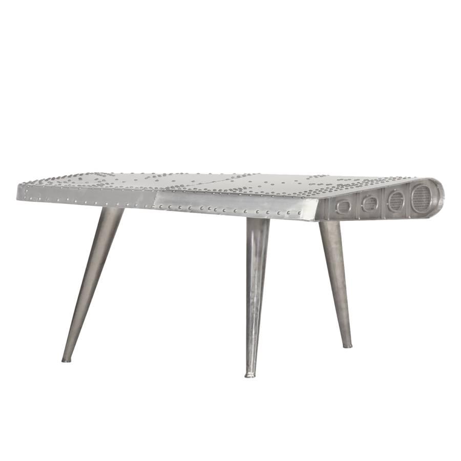 Couchtisch Gatwick III - Aluminium - Silber