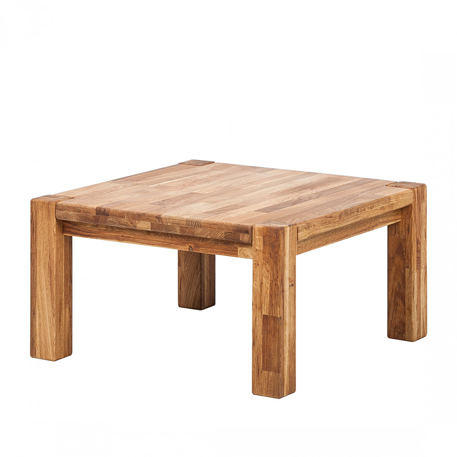 Table basse gisele ch ne massif huil - Table basse chene huile ...