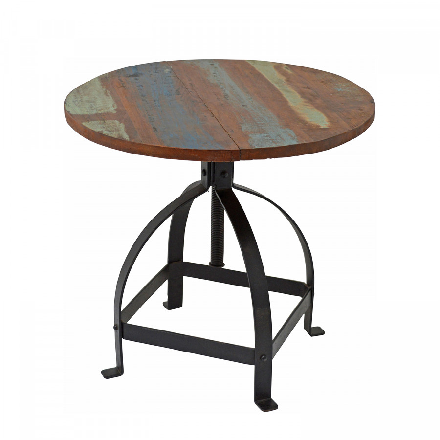 couchtisch ikela metall mangoholz home24. Black Bedroom Furniture Sets. Home Design Ideas