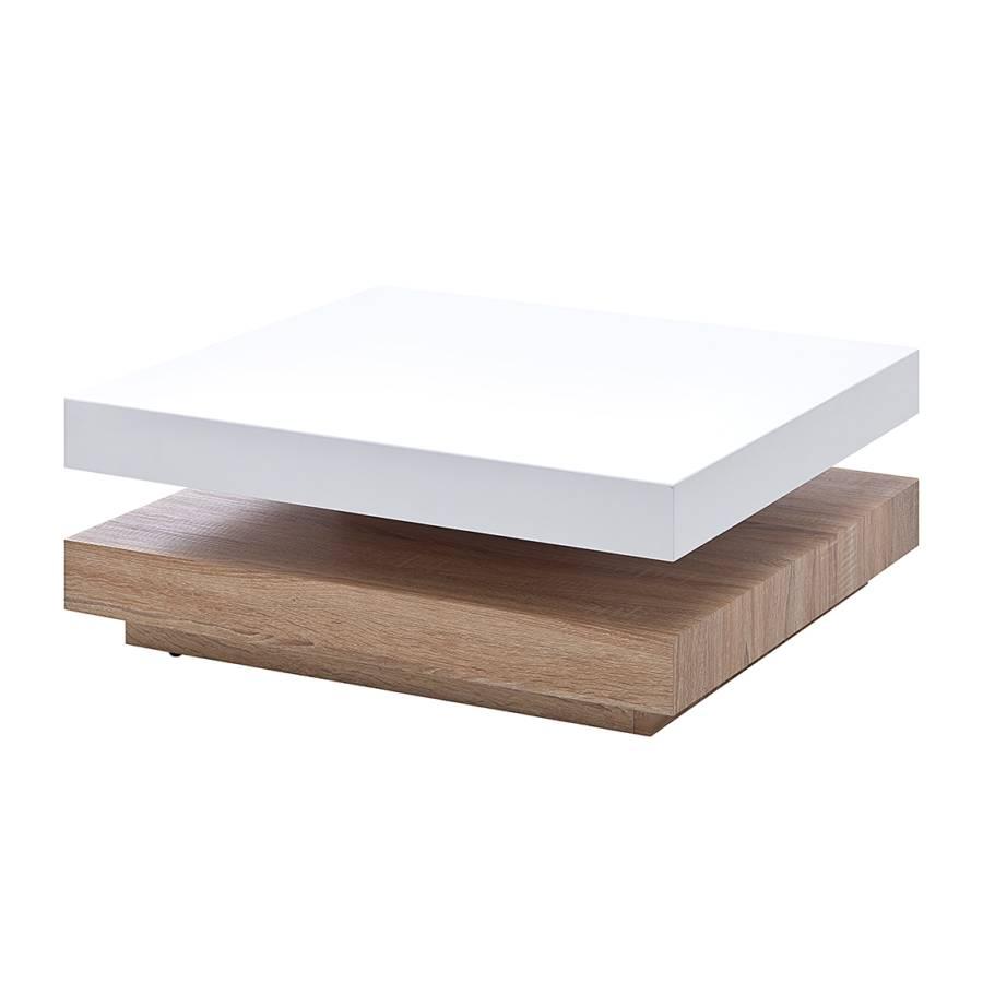 couchtisch jane verstellbar hochglanz wei eiche. Black Bedroom Furniture Sets. Home Design Ideas