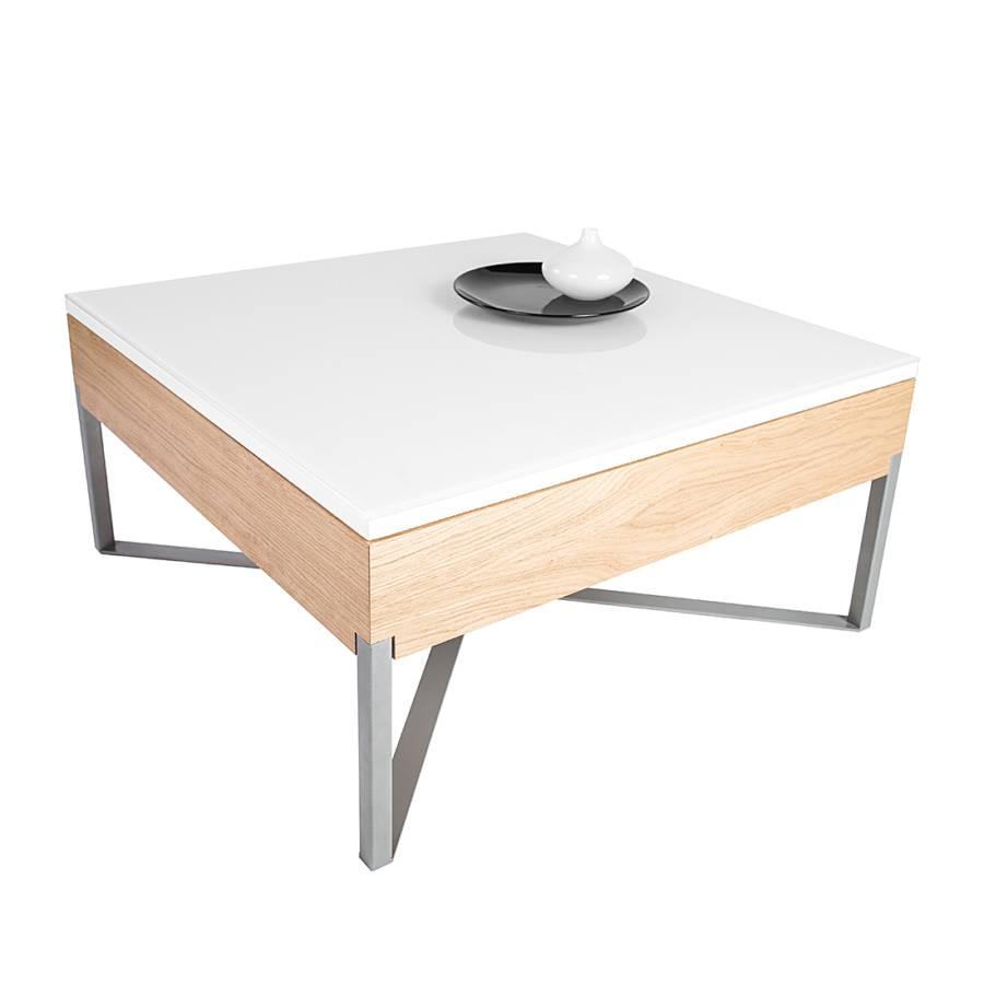 couchtisch joline ii wildeiche echtholzfurnier natur edelstahl. Black Bedroom Furniture Sets. Home Design Ideas