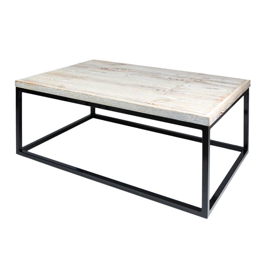 couchtisch moxonza eiche stahl home24. Black Bedroom Furniture Sets. Home Design Ideas
