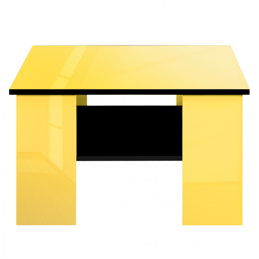 couchtisch schwarz gelb hochglanz gelb schwarz home24