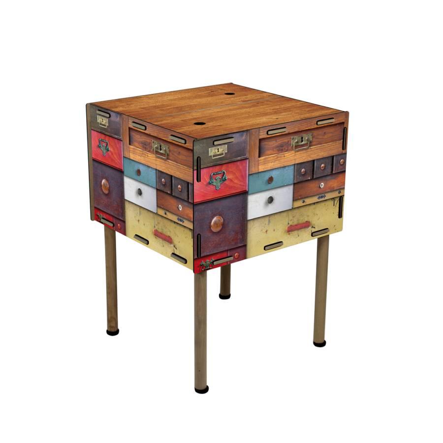 couchtisch stehk stchen kommode mdf bunt home24. Black Bedroom Furniture Sets. Home Design Ideas