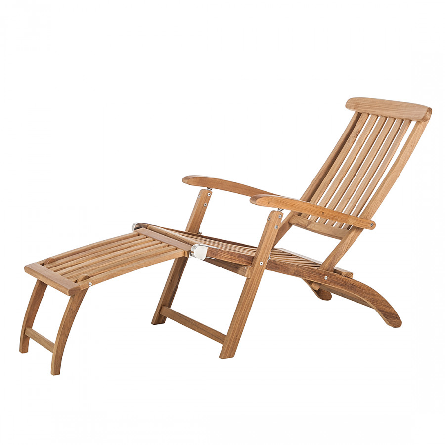 deckchair teak line agia home24. Black Bedroom Furniture Sets. Home Design Ideas