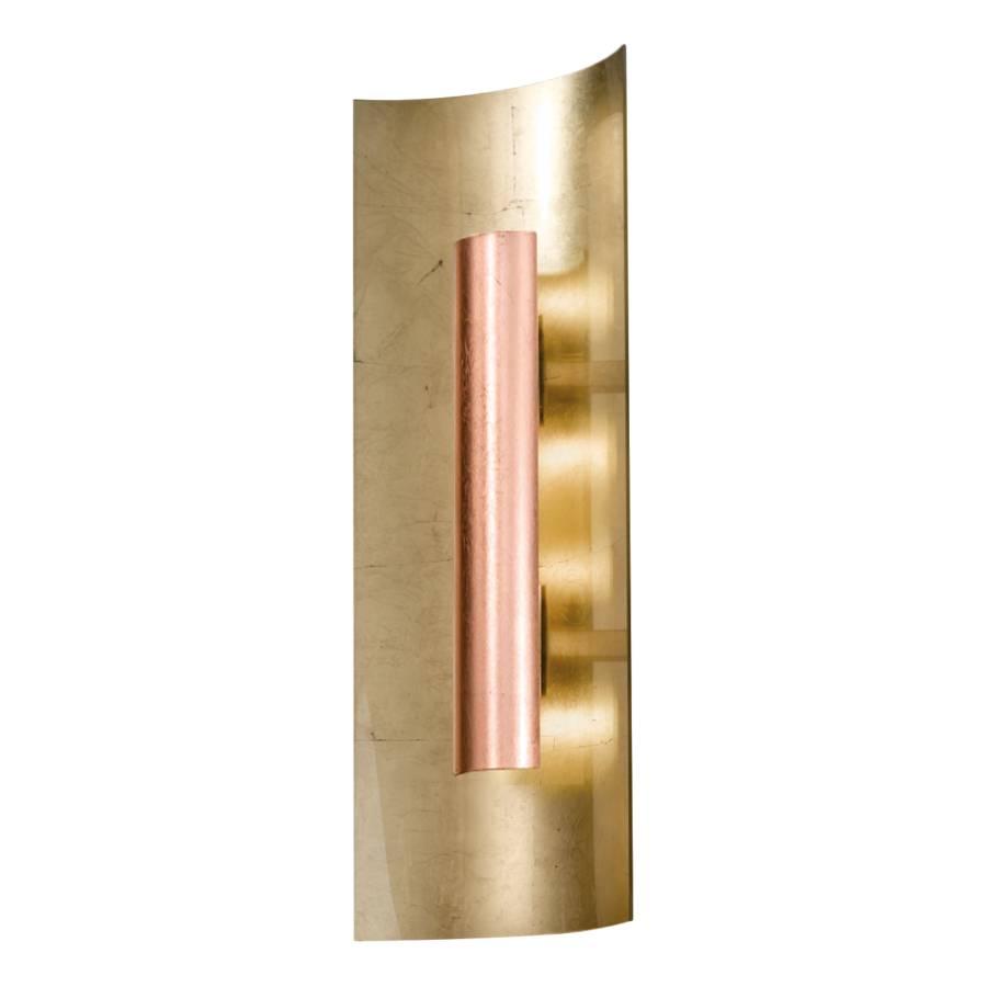 Deckenleuchte aura gold metall glas home24 for Deckenleuchte gold
