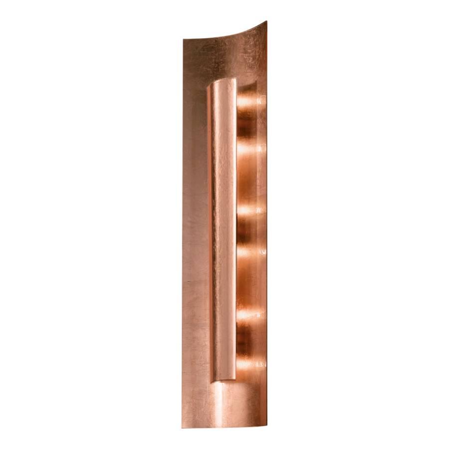 deckenleuchte aura kupfer metall glas home24. Black Bedroom Furniture Sets. Home Design Ideas