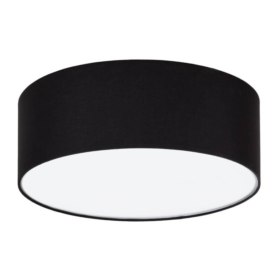schwarze deckenleuchte summa mit stoffschirm von loistaa home24. Black Bedroom Furniture Sets. Home Design Ideas