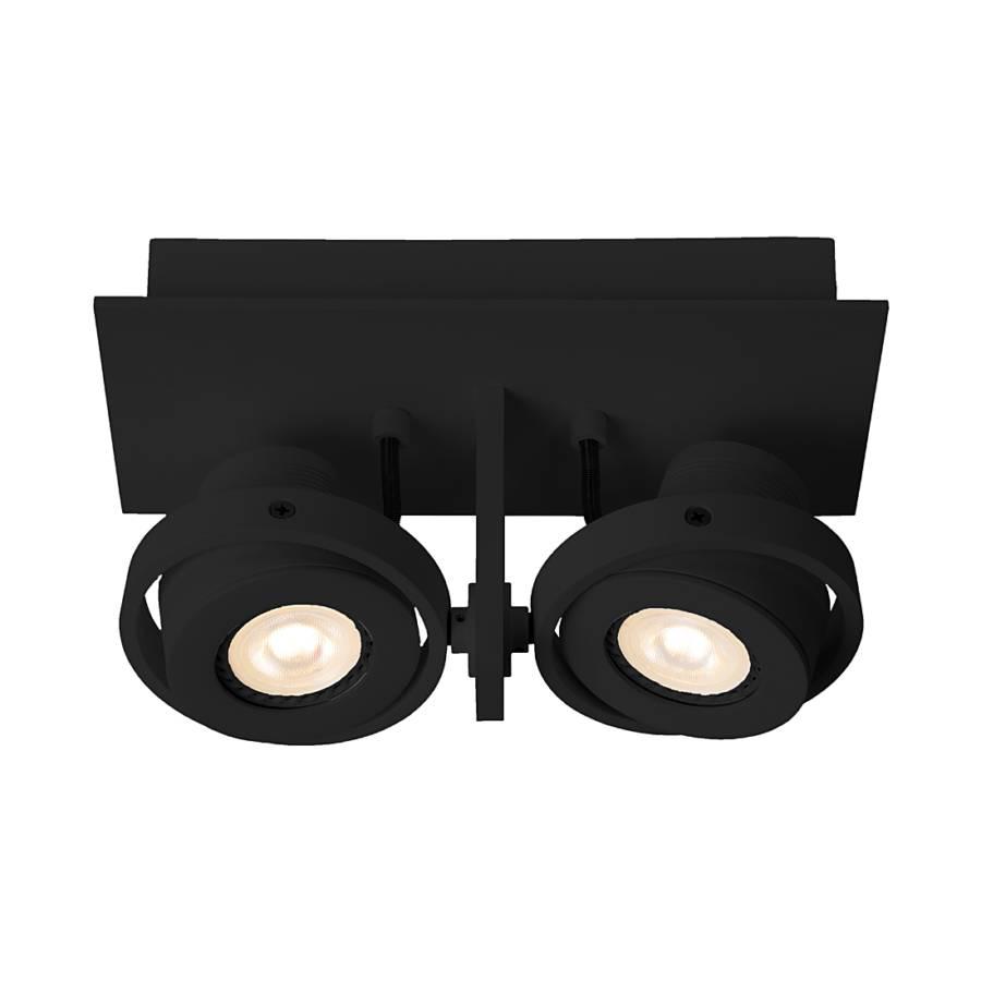 deckenstrahler luci 2 led aluminium 2 flammig home24. Black Bedroom Furniture Sets. Home Design Ideas