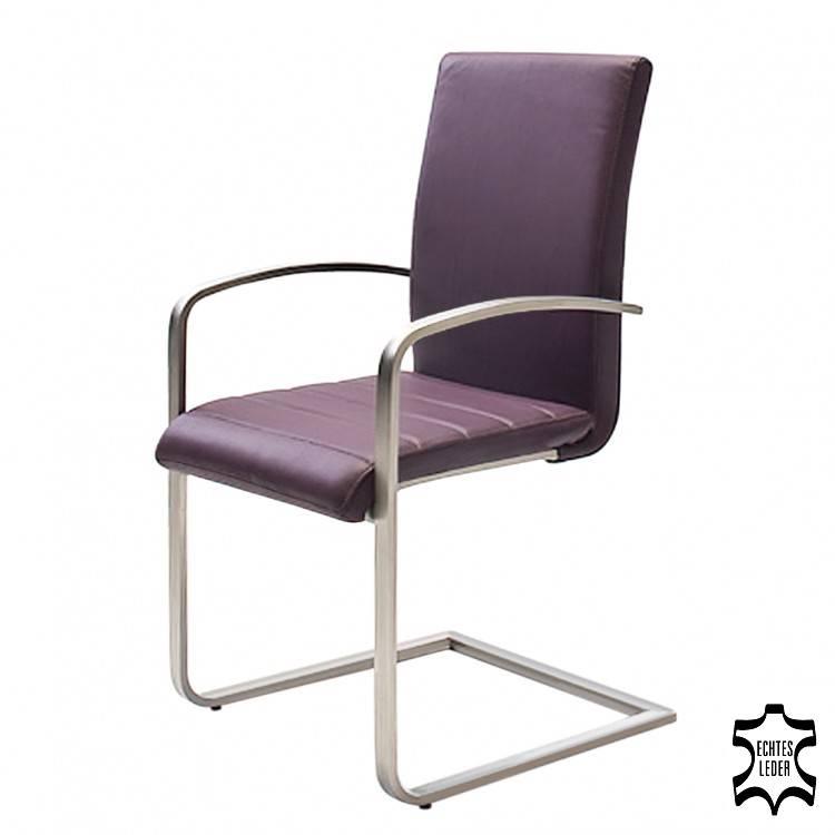 chaise design cantilever eugene violet bon prix. Black Bedroom Furniture Sets. Home Design Ideas