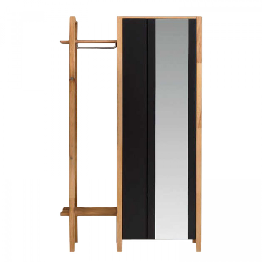 armoire d 39 entr e ayana avec garderobe annexe. Black Bedroom Furniture Sets. Home Design Ideas