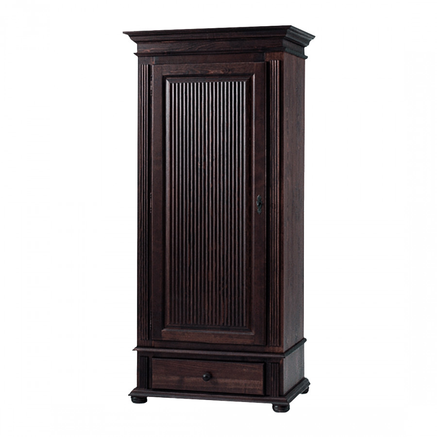 meuble d 39 entr e friedrich i bois massif style colonial. Black Bedroom Furniture Sets. Home Design Ideas