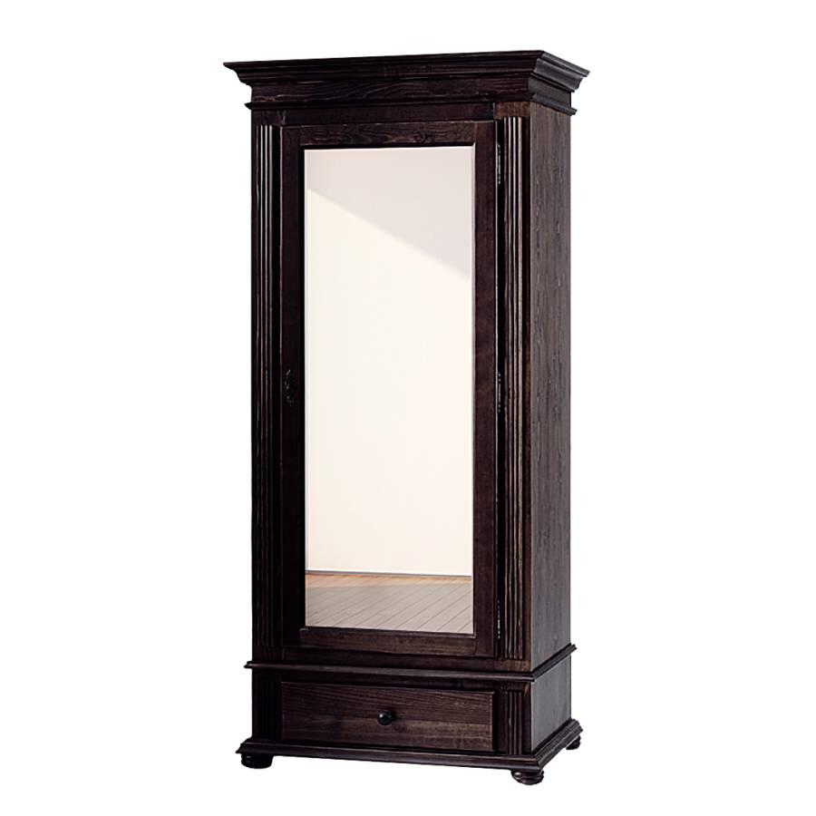 garderobekast friedrich i donkerbruin gebeitst. Black Bedroom Furniture Sets. Home Design Ideas