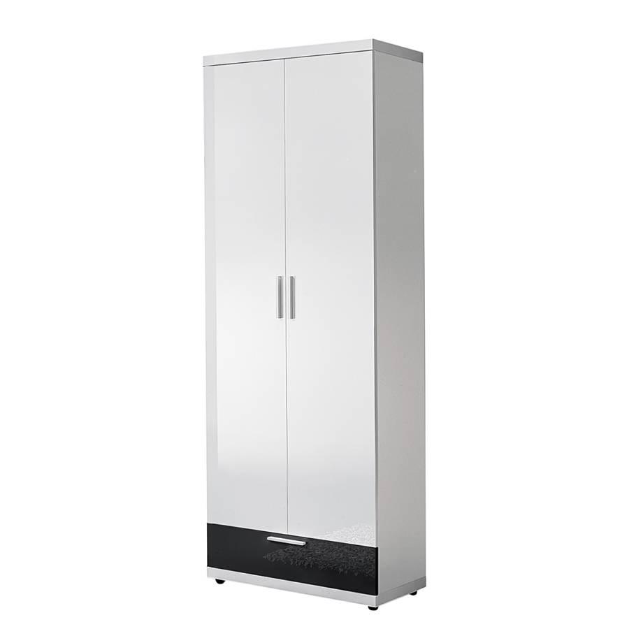 Voss garderobenschrank f r ein modernes heim home24 for Garderobenschrank schwarz hochglanz