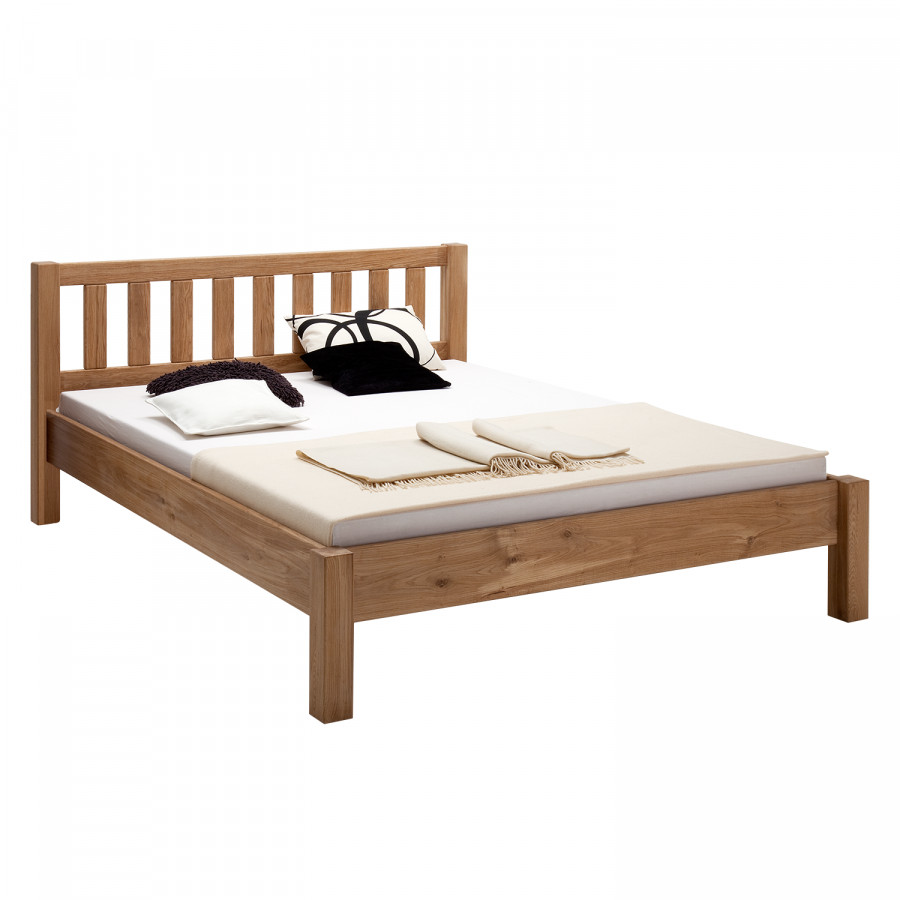 Massief houten bed ben - Massief houten platform bed ...