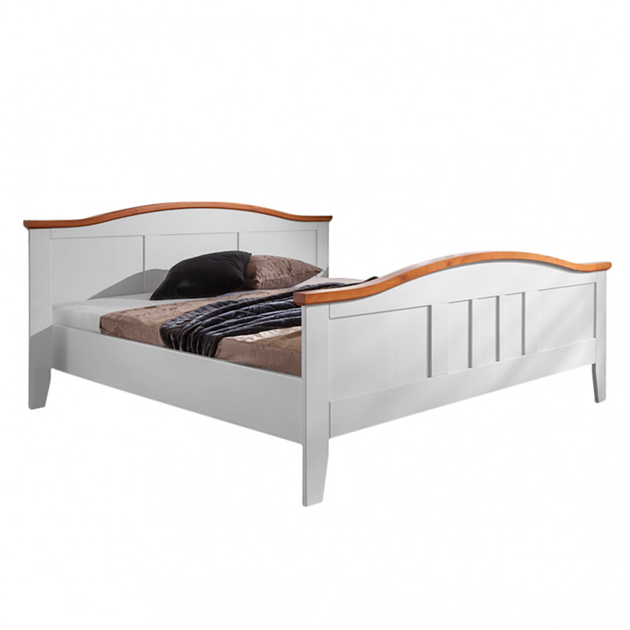 montreux doppelbett f r ein l ndliches zuhause home24. Black Bedroom Furniture Sets. Home Design Ideas