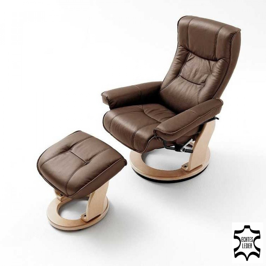 Fauteuil relaxation odenwald marron - Fauteuil relax marron ...