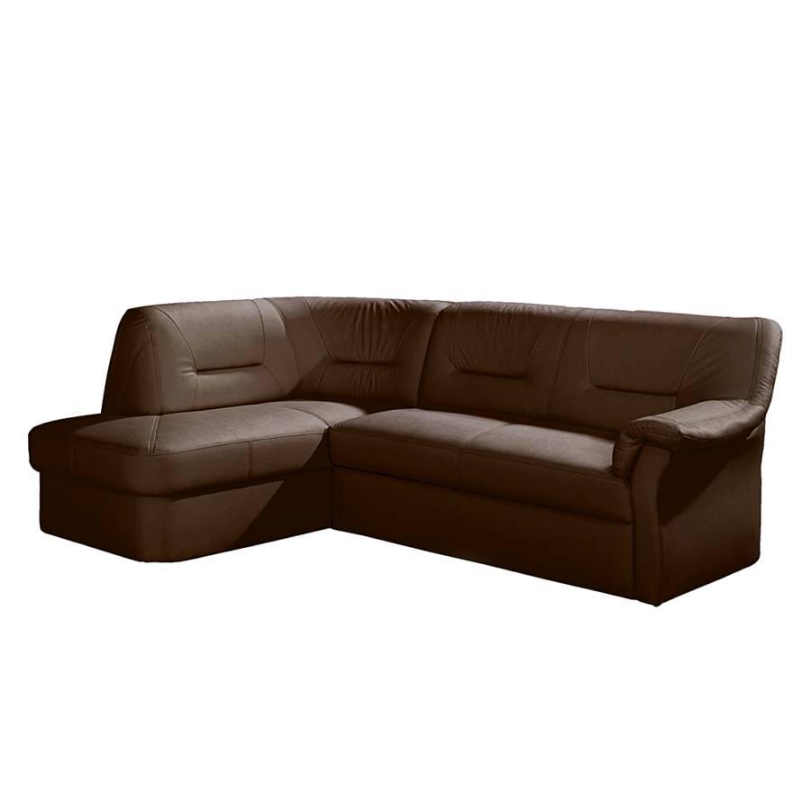 Nuovoform sofa mit schlaffunktion f r ein klassisches for Ecksofa braun mit schlaffunktion