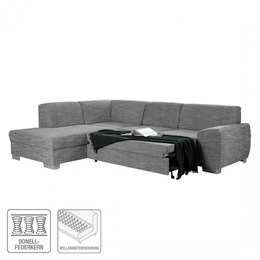Ecksofa barkley stoff home24 for Ecksofa hellgrau