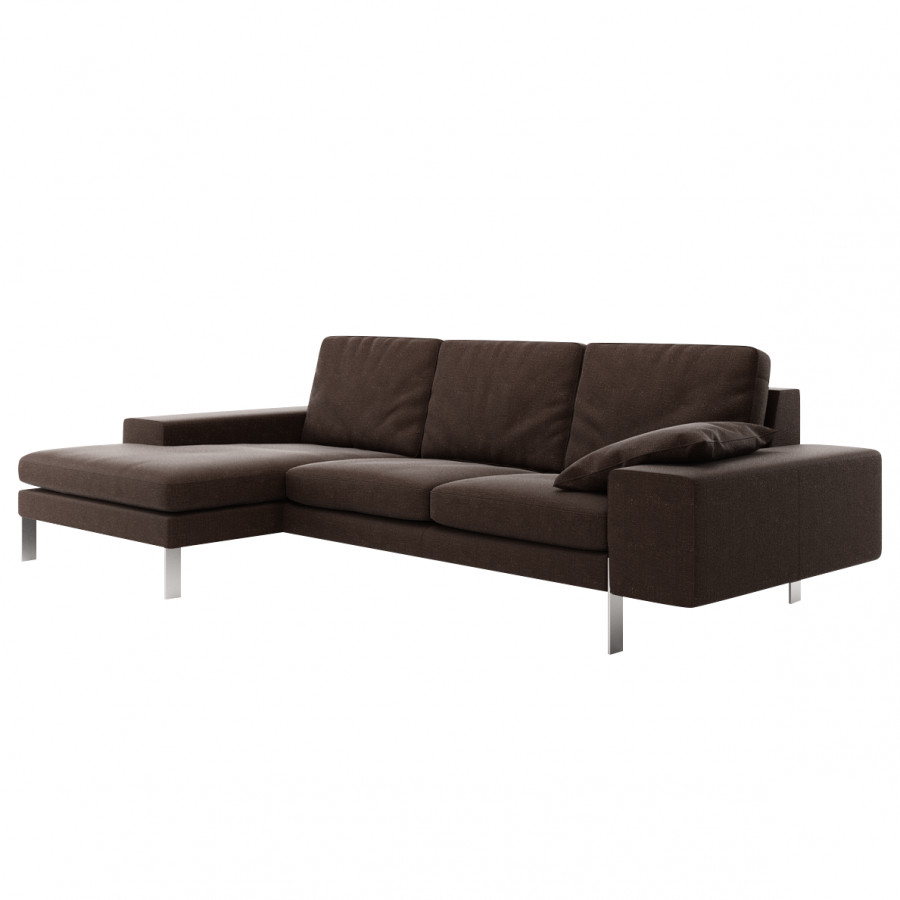 ecksofa catoira 2 5 sitzer mit recami re home24. Black Bedroom Furniture Sets. Home Design Ideas