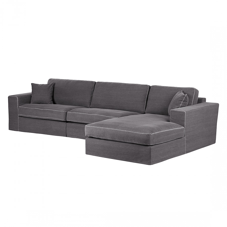 ecksofa mit longchair von maison belfort bei home24 bestellen home24. Black Bedroom Furniture Sets. Home Design Ideas