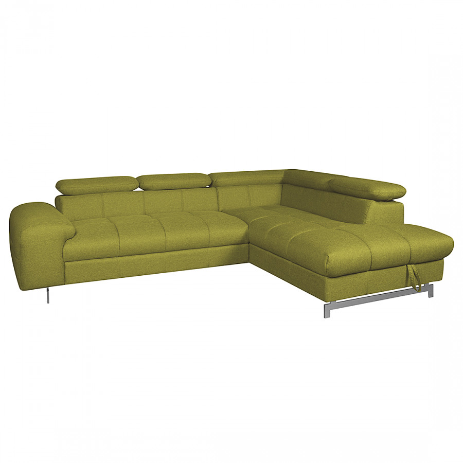 Divano ad angolo ferch con funzione letto tessuto - Divano letto ad angolo ...