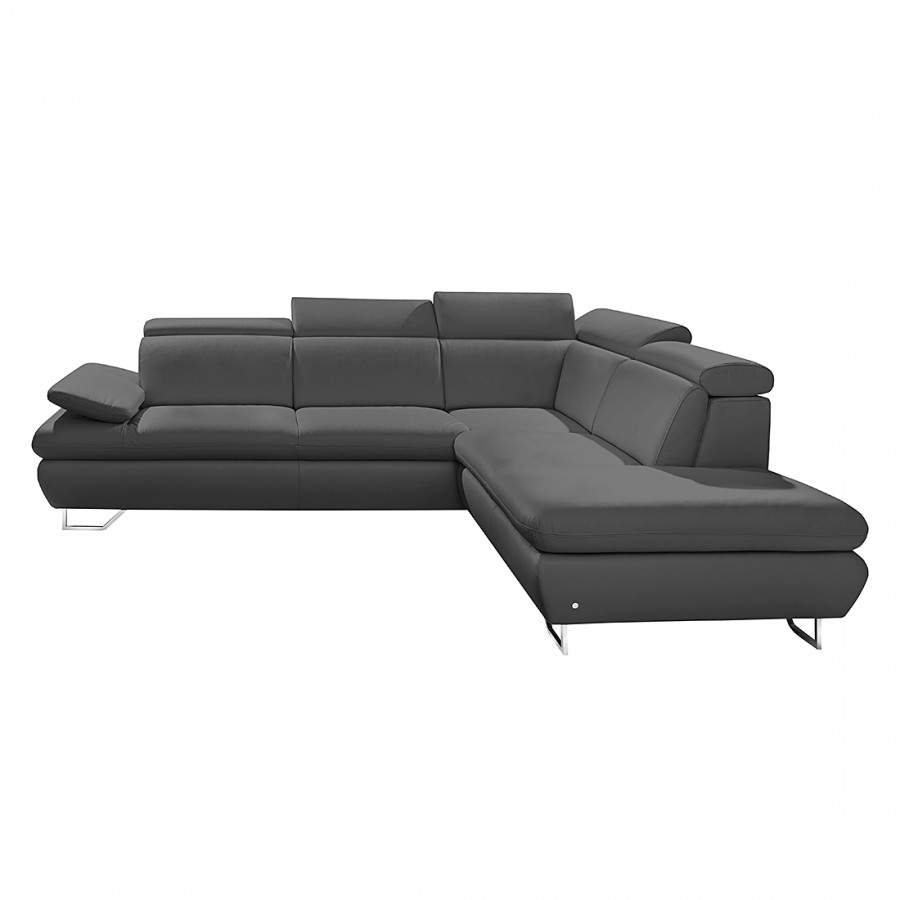 collectione minetti ecksofa mit longchair f r ein. Black Bedroom Furniture Sets. Home Design Ideas