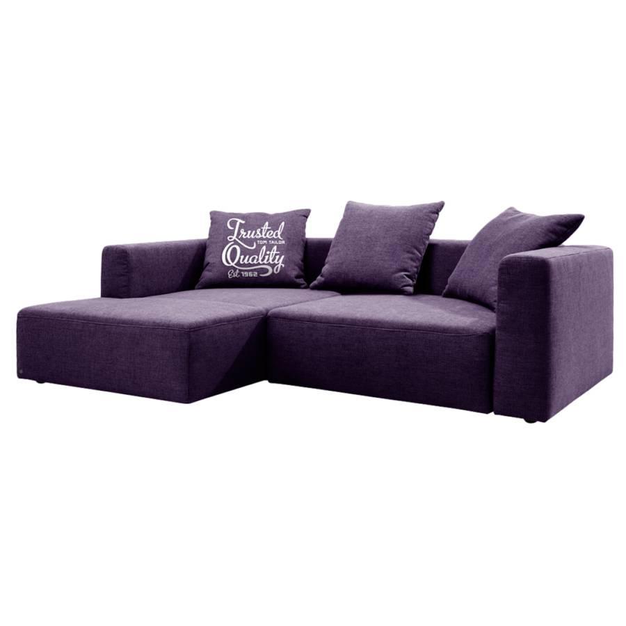 Jetzt bei home24 sofa mit schlaffunktion von tom tailor for Ecksofa lila