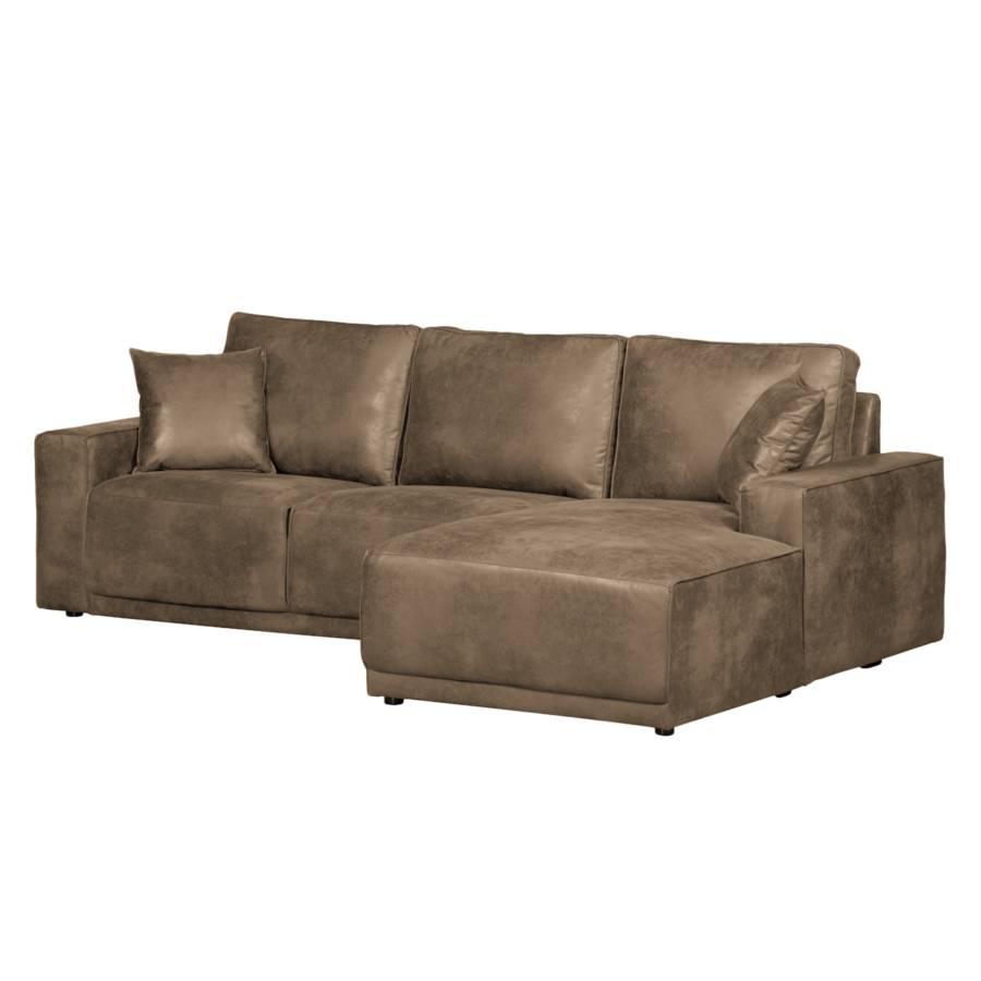 ecksofa kleive kunstleder home24. Black Bedroom Furniture Sets. Home Design Ideas