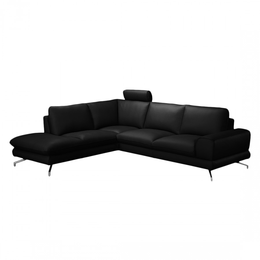 ecksofa kunstleder schwarz ecksofa nizza kunstleder. Black Bedroom Furniture Sets. Home Design Ideas