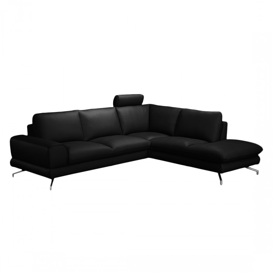 loftscape ecksofa mit longchair f r ein modernes zuhause home24. Black Bedroom Furniture Sets. Home Design Ideas
