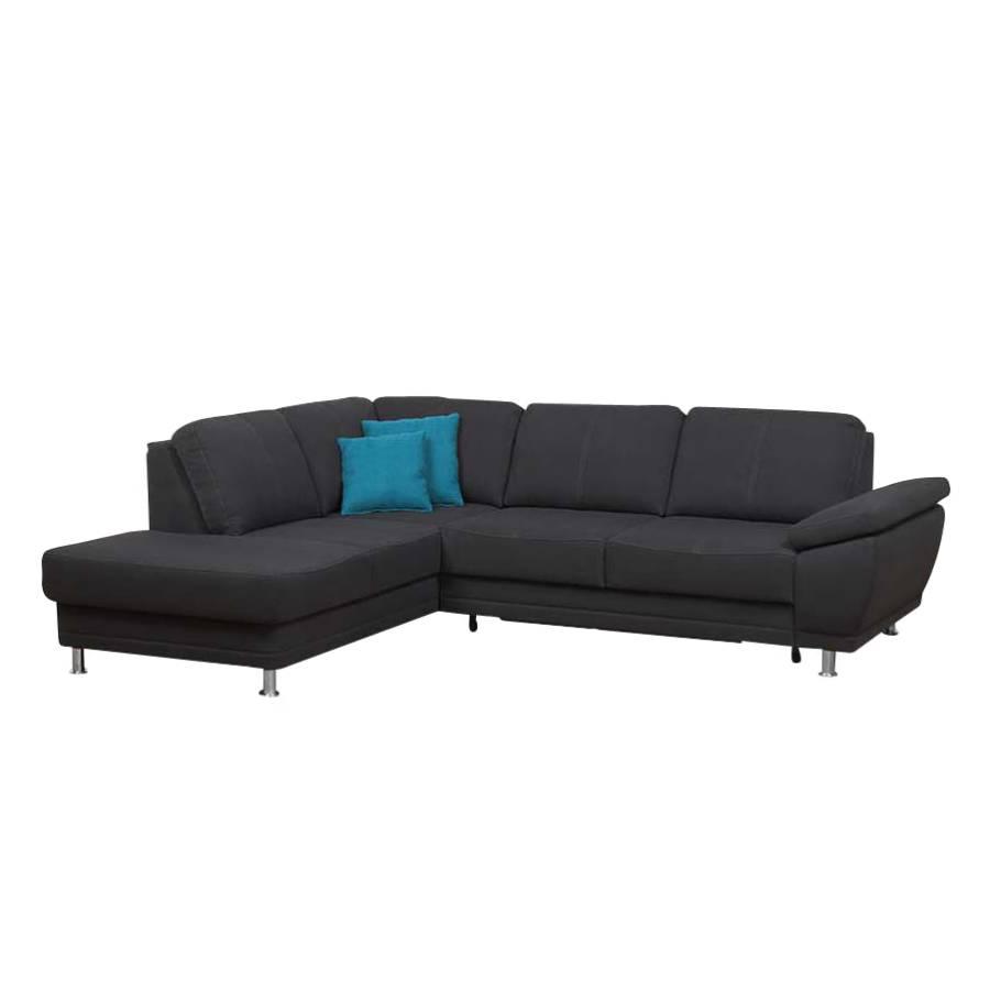 ecksofa mateos schwarz home24. Black Bedroom Furniture Sets. Home Design Ideas