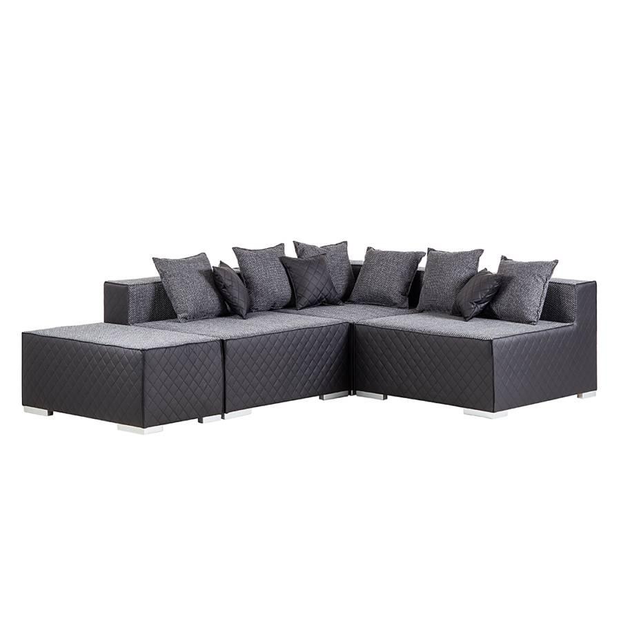 roomscape echtledersofa f r ein modernes zuhause home24. Black Bedroom Furniture Sets. Home Design Ideas