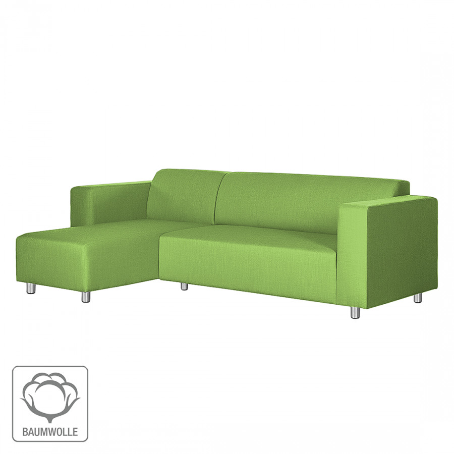 D sormais disponible sur home24 canap d 39 angle par for Canape d angle vert