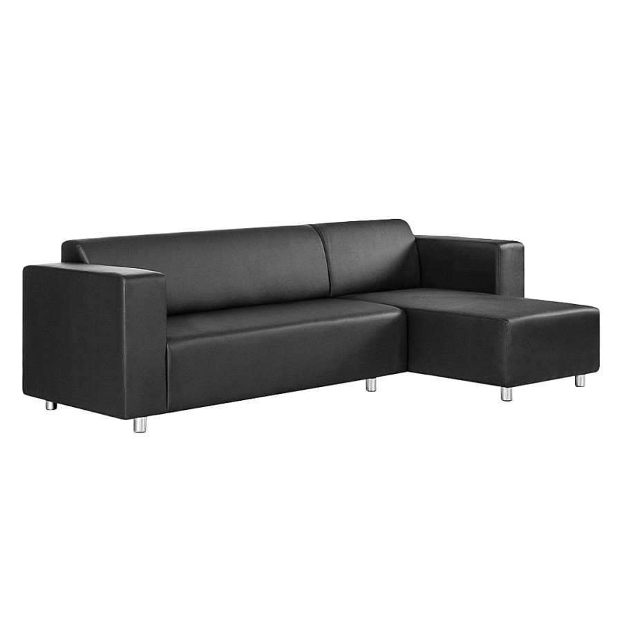 ecksofa oslo kunstleder home24. Black Bedroom Furniture Sets. Home Design Ideas