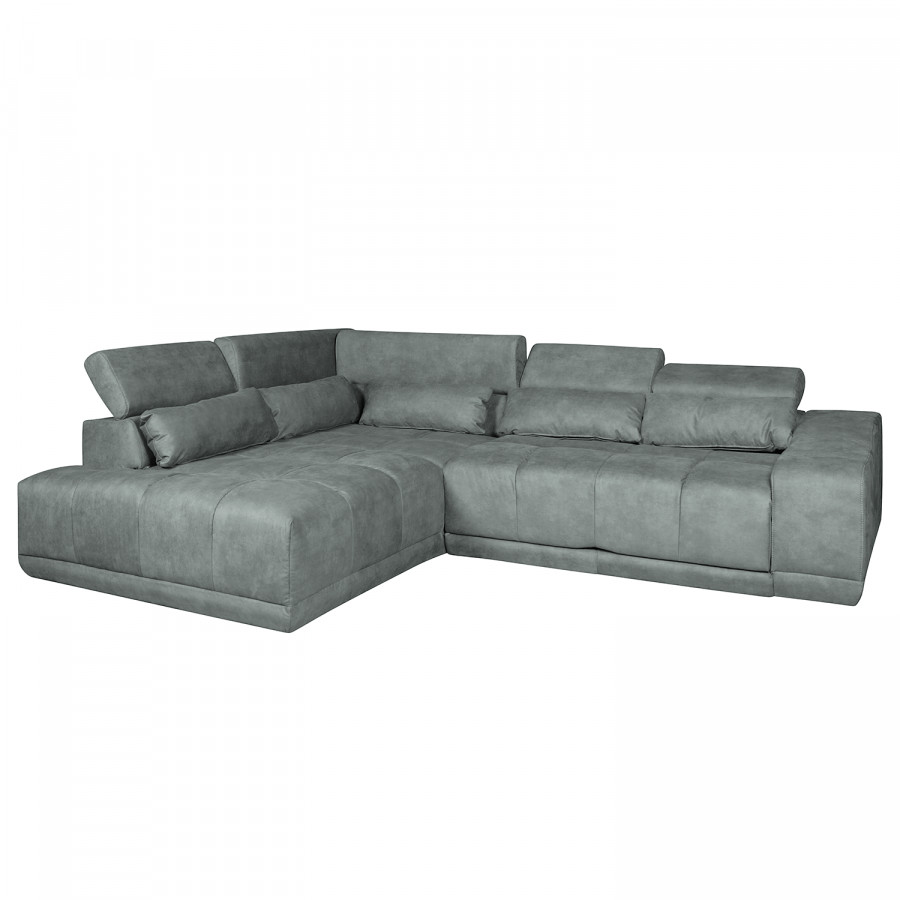 ecksofa paces mit relaxfunktion microfaser. Black Bedroom Furniture Sets. Home Design Ideas
