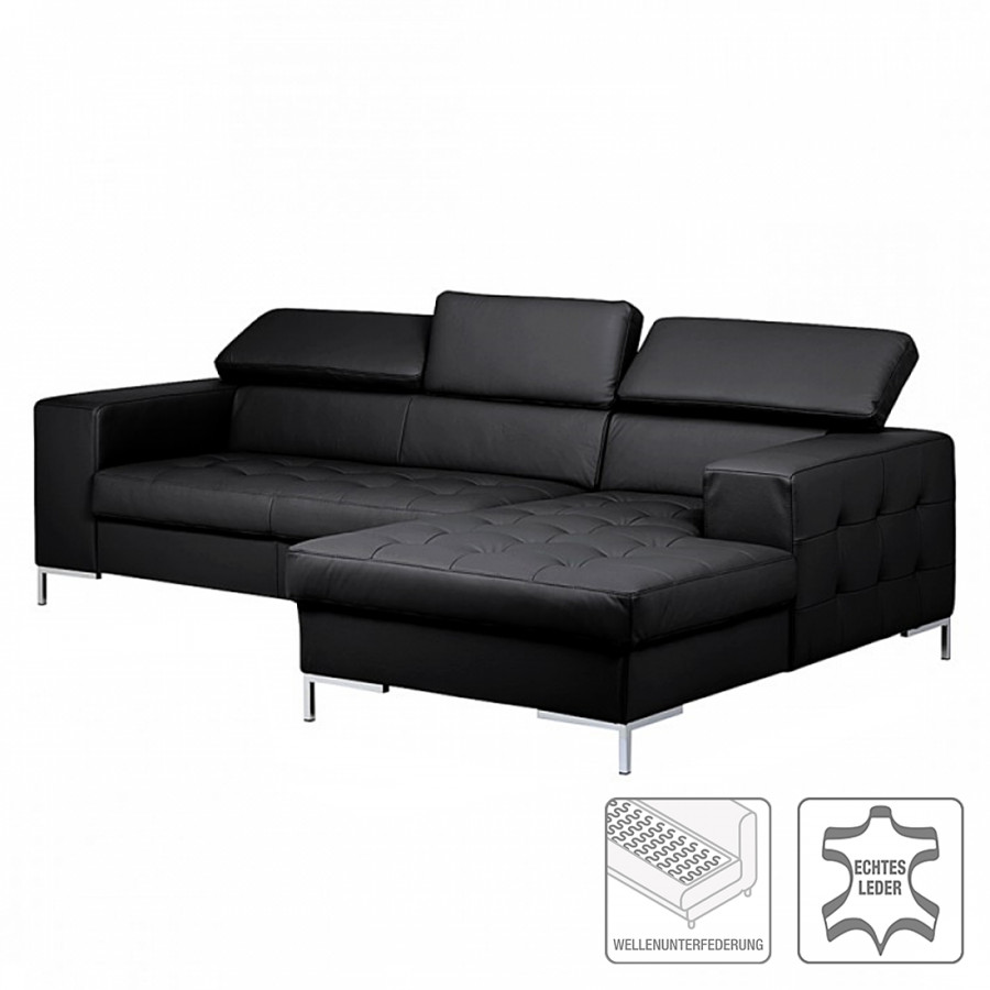 ecksofa mit longchair von loftscape bei home24 kaufen home24. Black Bedroom Furniture Sets. Home Design Ideas