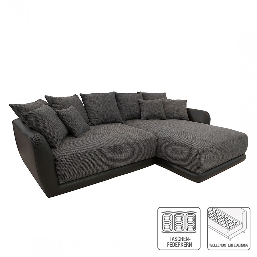 jetzt bei home24 ecksofa mit longchair von roomscape home24. Black Bedroom Furniture Sets. Home Design Ideas
