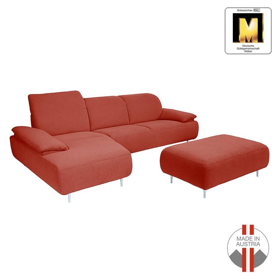 ecksofa mit longchair von ada premium bei home24 kaufen. Black Bedroom Furniture Sets. Home Design Ideas