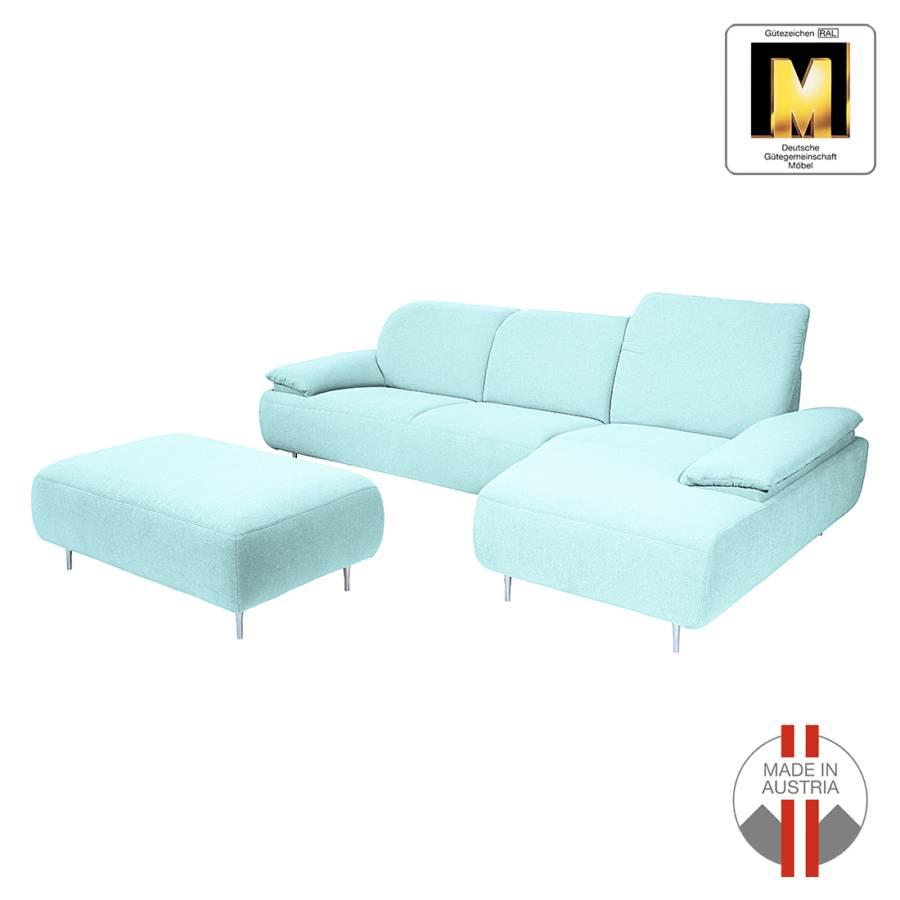 ecksofa mit longchair von ada premium bei home24 bestellen home24. Black Bedroom Furniture Sets. Home Design Ideas