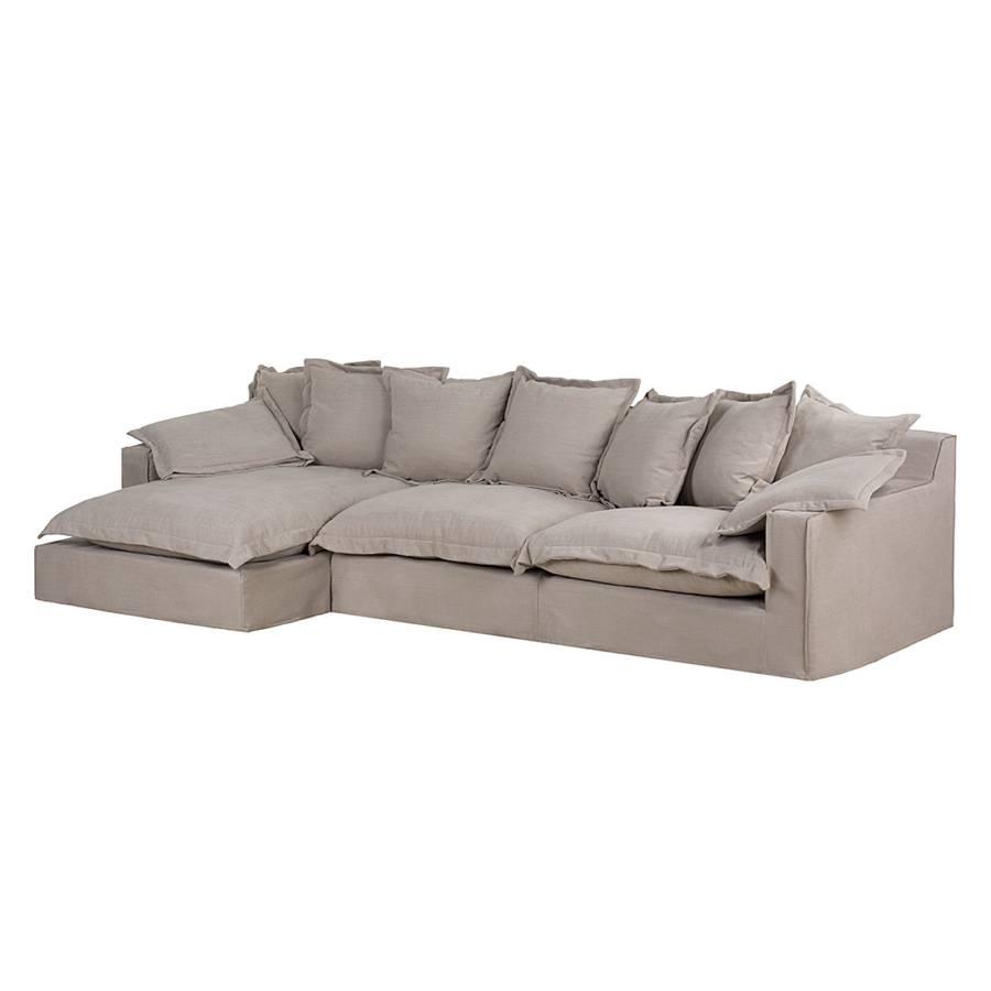 ecksofa rouen webstoff longchair davorstehend links. Black Bedroom Furniture Sets. Home Design Ideas
